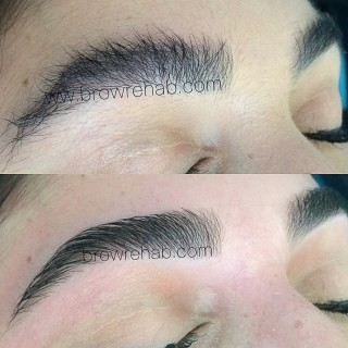 Brow Rehab eyebrow threading miami